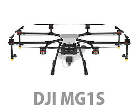 3D DJI Agras MG-1S Agricultural Drone