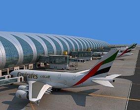 3D Dubai airport