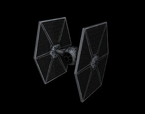 Imperial Tie-Fighter 3D asset