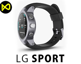 3D LG Watch Sport