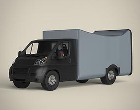 goods van shop 3D