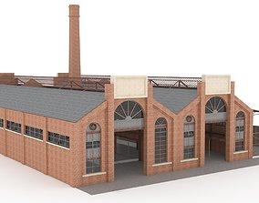 3D model Factory exterior