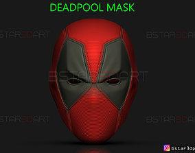3D print model Deadpool Mask - Marvel comics