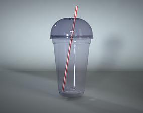3D Plastic cocktail cup