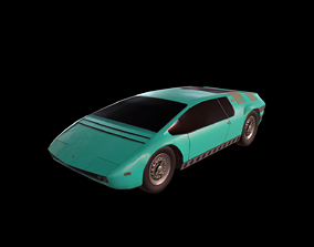 Bizzarrini Manta Concept - 1968 3D model