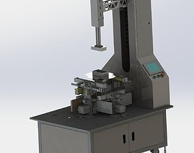 Carton packaging machine 3D model