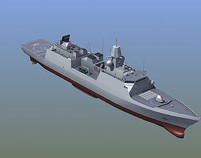 HNLMS Evertsen Frigate 3D