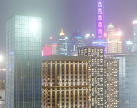 City Style Buildings Pack 3D model