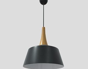 Ceiling Lamp 4 3D model VR / AR ready