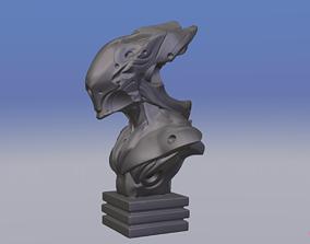 3D print model sci-fi Alien Bust