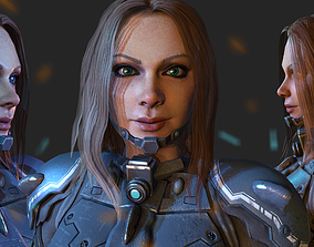 Sniper Game character 3D asset