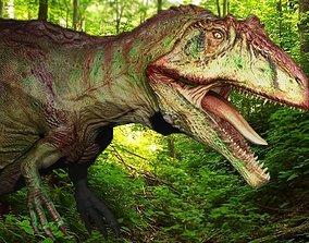 Giganotosaurus 3D asset VR / AR ready