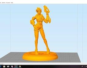 3D printable model figurine Tracer