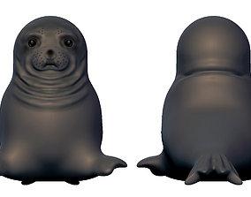 memes awkward seal - Full body 3D print model