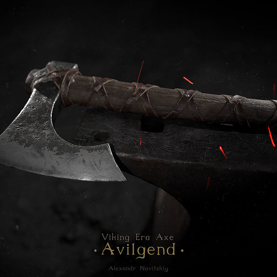 Viking Era Axe