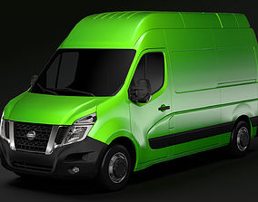 3D model Nissan NV 400 L2H3 Van 2017
