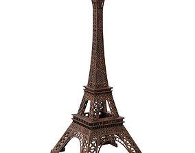 3D asset Eiffel Tower Iron Sculpture