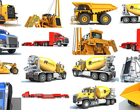 Industrial Vehicles 3D Models tractor