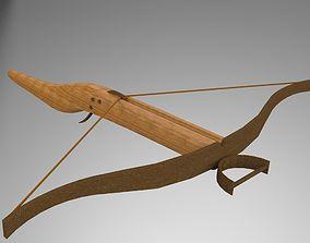 3D model archer crossbow