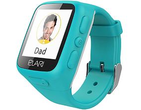 Elari Kidphone Blue 3D model
