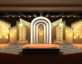 various Stage design 3D model