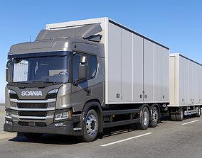 3D Scania P-Normal Cab