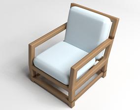 Sofa Single Seater 2 3D model