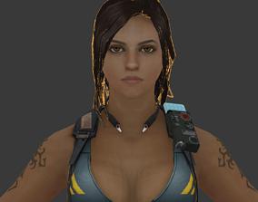3D model Animated Female