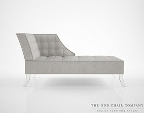 The Odd Chair Company Bovina Chaise 3D model