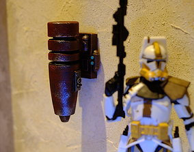 3D print model Hammerfall wall greeble