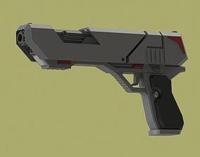 Fireball Blaster 3D print model