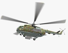 Mi-17 Slovak Air Force Animated 3D model