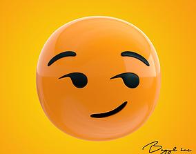 3D Emoji Cheeky