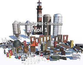 GamePoly PBR Collection Vol 1 3D model