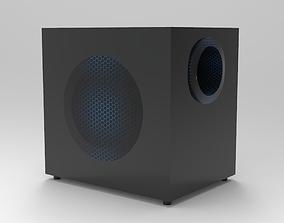 Speaker 3 3D print model