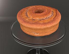 3D Cake - Walnut