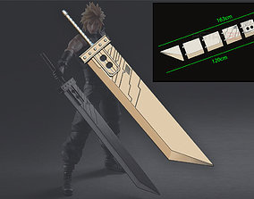 3D print model Buster Sword Cloud - Final Fantasy VII