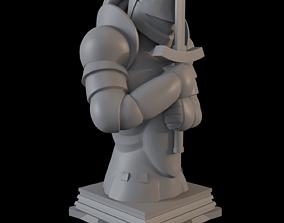 Fate Zero Saber Class Chess Piece 3D print model