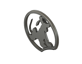 Mickey Mouse Headband Ear with Pluto 3D printable model 2