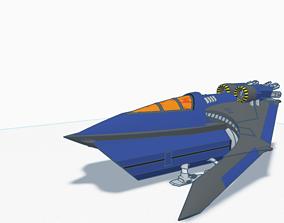 Space knight explorer 3D printable model