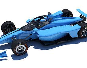 3D model Indycar 2020 - Oval version