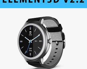 E3D - LG Watch Style 3D model