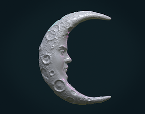 3D print model Crescent with face