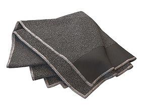 Casual Folded Towel 3D