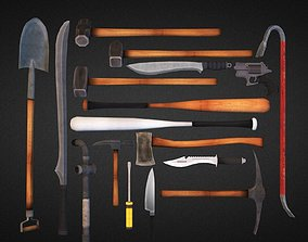 Survival Weapons HD Vol 1 3D asset