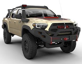 3D Toyota Tacoma TRD PRO 2020 Ecotenche Edition
