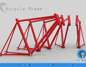 Bicycle Frame 3D