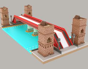 3D model Pixel Bridge