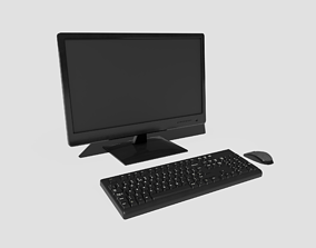 3D model PBR Desktop PC