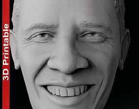Obama Head 3D printable model